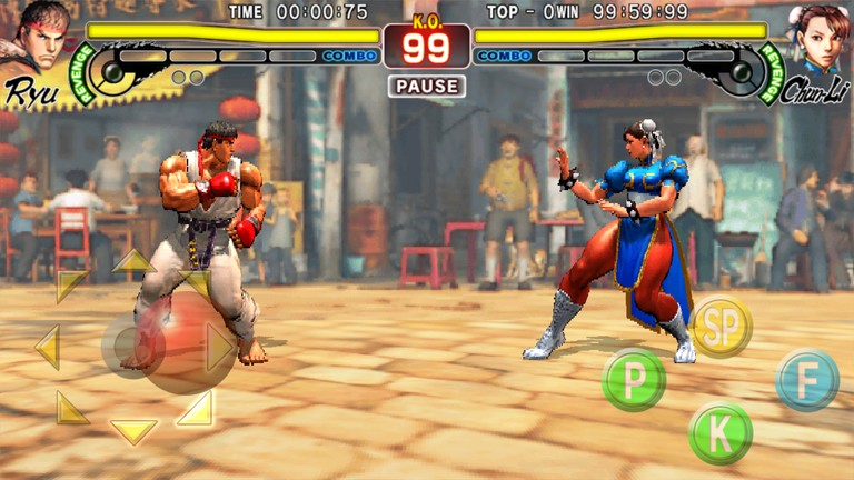 street fighter 4 gameplay
